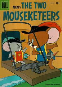Cover Thumbnail for Four Color (Dell, 1942 series) #642 - M.G.M's The Two Mouseketeers
