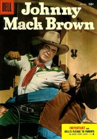 Cover Thumbnail for Four Color (Dell, 1942 series) #645 - Johnny Mack Brown