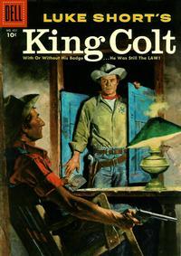 Cover Thumbnail for Four Color (Dell, 1942 series) #651 - Luke Short's King Colt
