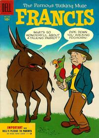 Cover Thumbnail for Four Color (Dell, 1942 series) #655 - Francis, The Famous Talking Mule