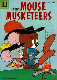 Cover Thumbnail for Four Color (Dell, 1942 series) #670 - M.G.M.'s Mouse Mouseketeers