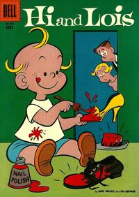 Cover Thumbnail for Four Color (Dell, 1942 series) #683 - Hi and Lois