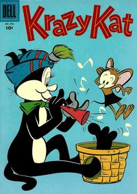 Cover Thumbnail for Four Color (Dell, 1942 series) #696 - Krazy Kat