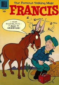 Cover for Four Color (Dell, 1942 series) #698 - Francis, The Famous Talking Mule