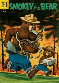Cover Thumbnail for Four Color (Dell, 1942 series) #708 - Smokey the Bear