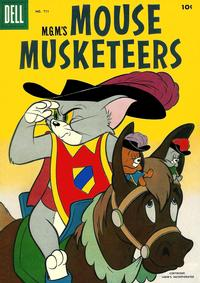 Cover Thumbnail for Four Color (Dell, 1942 series) #711 - M.G.M.'s Mouse Musketeers