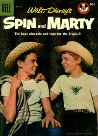 Cover Thumbnail for Four Color (Dell, 1942 series) #714 - Walt Disney's Spin and Marty
