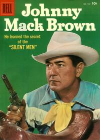 Cover Thumbnail for Four Color (Dell, 1942 series) #722 - Johnny Mack Brown