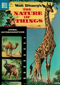 Cover Thumbnail for Four Color (Dell, 1942 series) #727 - Walt Disney's The Nature of Things