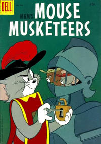 Cover Thumbnail for Four Color (Dell, 1942 series) #728 - M-G-M's Mouse Mouseketeers