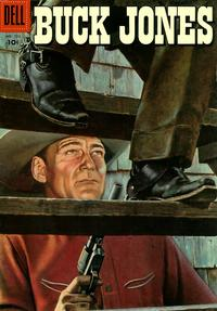 Cover Thumbnail for Four Color (Dell, 1942 series) #733 - Buck Jones