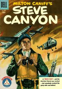 Cover Thumbnail for Four Color (Dell, 1942 series) #737 - Milton Caniff's Steve Canyon