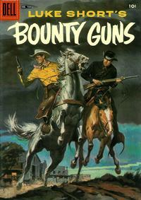 Cover for Four Color (Dell, 1942 series) #739 - Luke Short's Bounty Guns