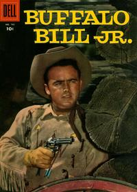 Cover Thumbnail for Four Color (Dell, 1942 series) #742 - Buffalo Bill Jr.