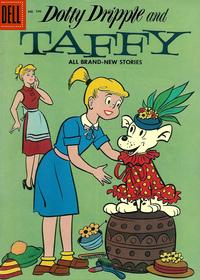 Cover Thumbnail for Four Color (Dell, 1942 series) #746 - Dotty Dripple and Taffy
