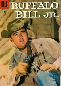 Cover Thumbnail for Four Color (Dell, 1942 series) #766 - Buffalo Bill, Jr.