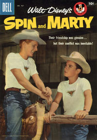 Cover Thumbnail for Four Color (Dell, 1942 series) #767 - Walt Disney's Spin and Marty
