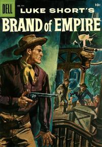 Cover for Four Color (Dell, 1942 series) #771 - Luke Short's Brand of Empire