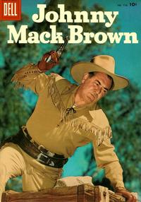 Cover Thumbnail for Four Color (Dell, 1942 series) #776 - Johnny Mack Brown