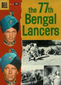 Cover Thumbnail for Four Color (Dell, 1942 series) #791 - The 77th Bengal Lancers