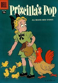 Cover Thumbnail for Four Color (Dell, 1942 series) #799 - Priscilla's Pop