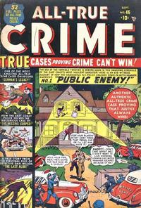 Cover Thumbnail for All True Crime (Marvel, 1949 series) #46