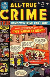 Cover Thumbnail for All True Crime (Marvel, 1949 series) #48