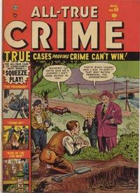 Cover Thumbnail for All True Crime (Marvel, 1949 series) #49
