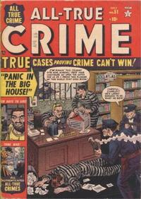 Cover Thumbnail for All True Crime (Marvel, 1949 series) #51