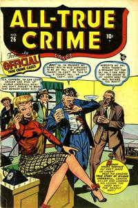 Cover Thumbnail for All True Crime Cases (Marvel, 1948 series) #26
