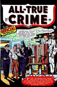 Cover Thumbnail for All True Crime Cases (Marvel, 1948 series) #27