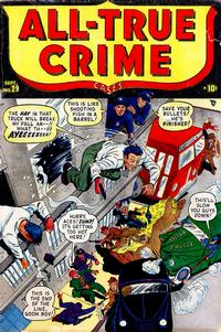 Cover Thumbnail for All True Crime Cases (Marvel, 1948 series) #29