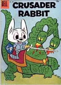 Cover Thumbnail for Four Color (Dell, 1942 series) #805 - Crusader Rabbit [15¢]