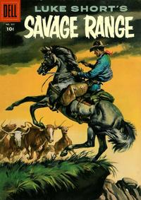 Cover Thumbnail for Four Color (Dell, 1942 series) #807 - Luke Short's Savage Range