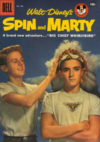 Cover for Four Color (Dell, 1942 series) #808 - Walt Disney's Spin and Marty