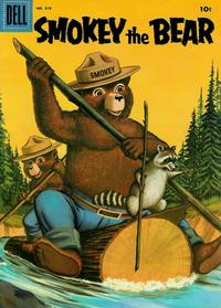 Cover Thumbnail for Four Color (Dell, 1942 series) #818 - Smokey the Bear