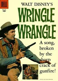Cover Thumbnail for Four Color (Dell, 1942 series) #821 - Walt Disney's Wringle Wrangle