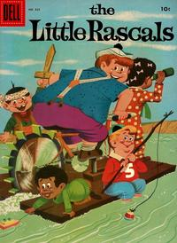 Cover Thumbnail for Four Color (Dell, 1942 series) #825 - The Little Rascals