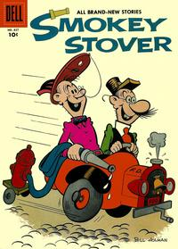 Cover Thumbnail for Four Color (Dell, 1942 series) #827 - Smokey Stover