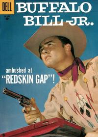 Cover Thumbnail for Four Color (Dell, 1942 series) #828 - Buffalo Bill, Jr.