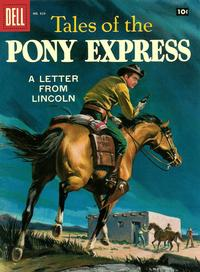 Cover Thumbnail for Four Color (Dell, 1942 series) #829 - Tales of the Pony Express