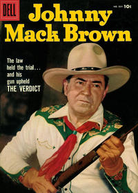 Cover Thumbnail for Four Color (Dell, 1942 series) #834 - Johnny Mack Brown