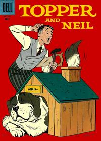 Cover Thumbnail for Four Color (Dell, 1942 series) #859 - Topper and Neil