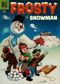 Cover Thumbnail for Four Color (Dell, 1942 series) #861 - Frosty the Snowman
