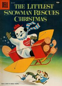 Cover Thumbnail for Four Color (Dell, 1942 series) #864 - The Littlest Snowman Rescues Christmas