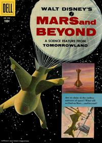 Cover Thumbnail for Four Color (Dell, 1942 series) #866 - Walt Disney's Mars and Beyond