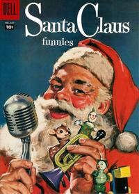 Cover Thumbnail for Four Color (Dell, 1942 series) #867 - Santa Claus Funnies