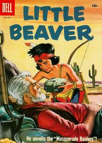 Cover Thumbnail for Four Color (Dell, 1942 series) #870 - Little Beaver