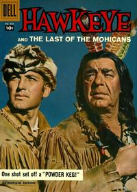 Cover Thumbnail for Four Color (Dell, 1942 series) #884 - Hawkeye and the Last of the Mohicans