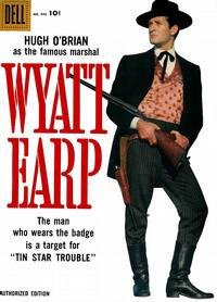 Cover Thumbnail for Four Color (Dell, 1942 series) #890 - Wyatt Earp